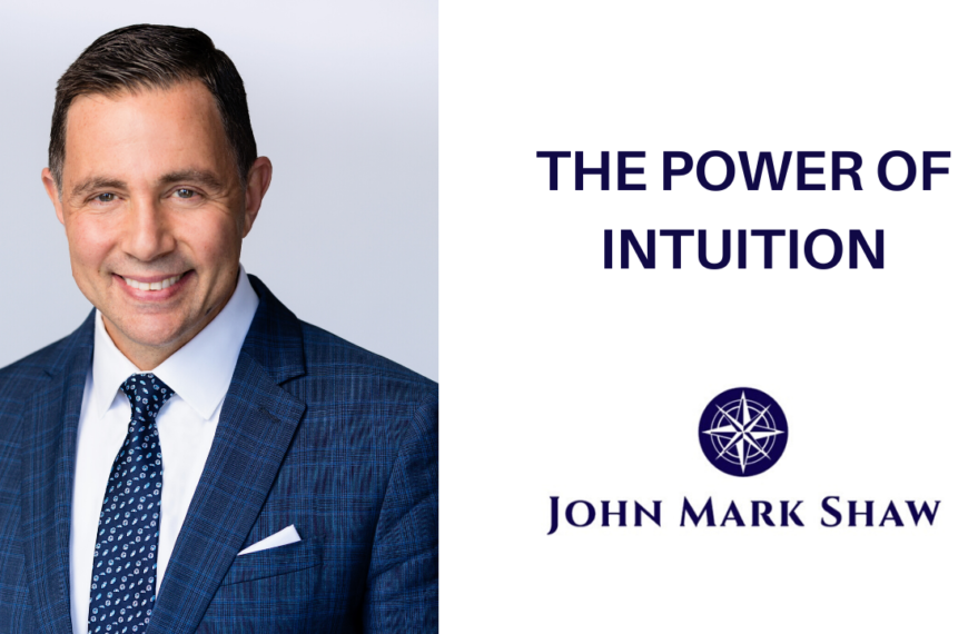 The Power of Intuition & Finding Disruptive Business Opportunities
